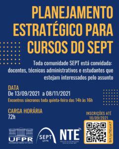 Curso planejamento estratégico SEPT NTE